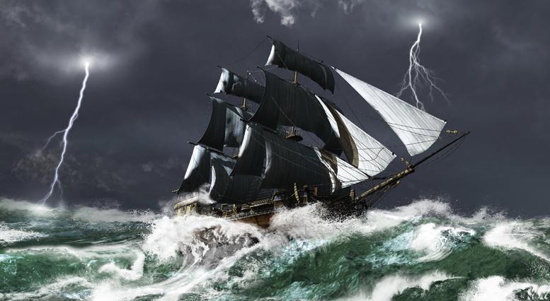 Jona op de vlucht voor God
